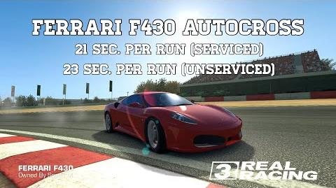 Real Racing 3 Ferrari F430 Autocross Annihilation 21 Sec Per Run Incl Unserviced RR3