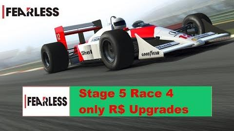 Fearless Stage 5 Race 4 only R$ Upgrades 1111111