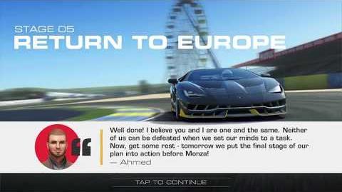 Lamborghini's Legacy, Stage 5 Race 4, Upgrades 3232122