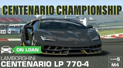 Video Lamborghini Centenario Lp770 4 Championship 0 Real Racing