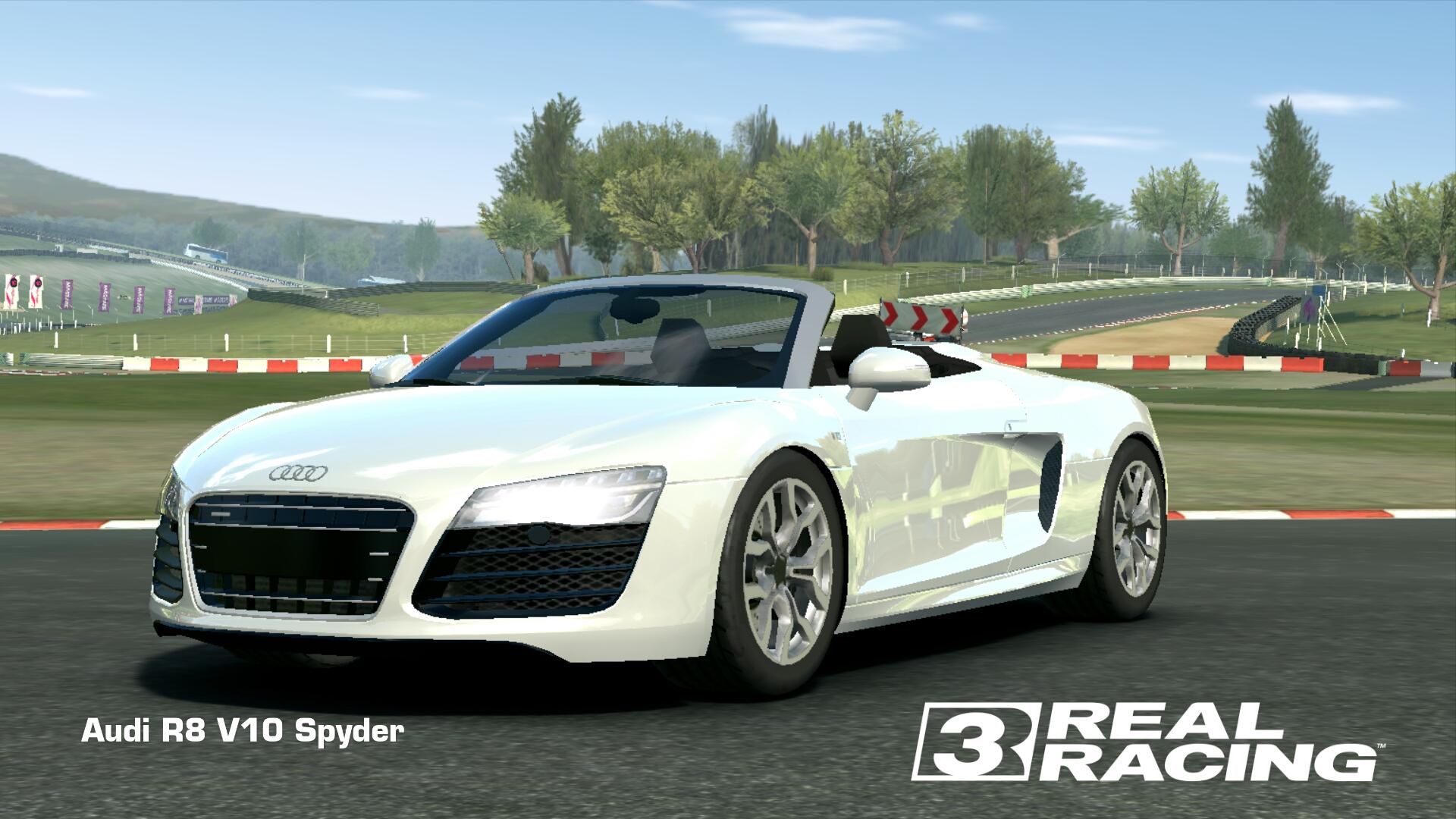 Showcase Audi R8 V10 Spyder
