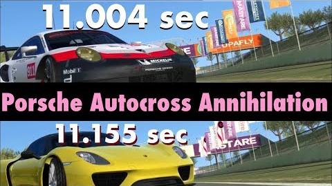Real Racing 3 RR3 Porsche Autocross Annihilation TOP 2