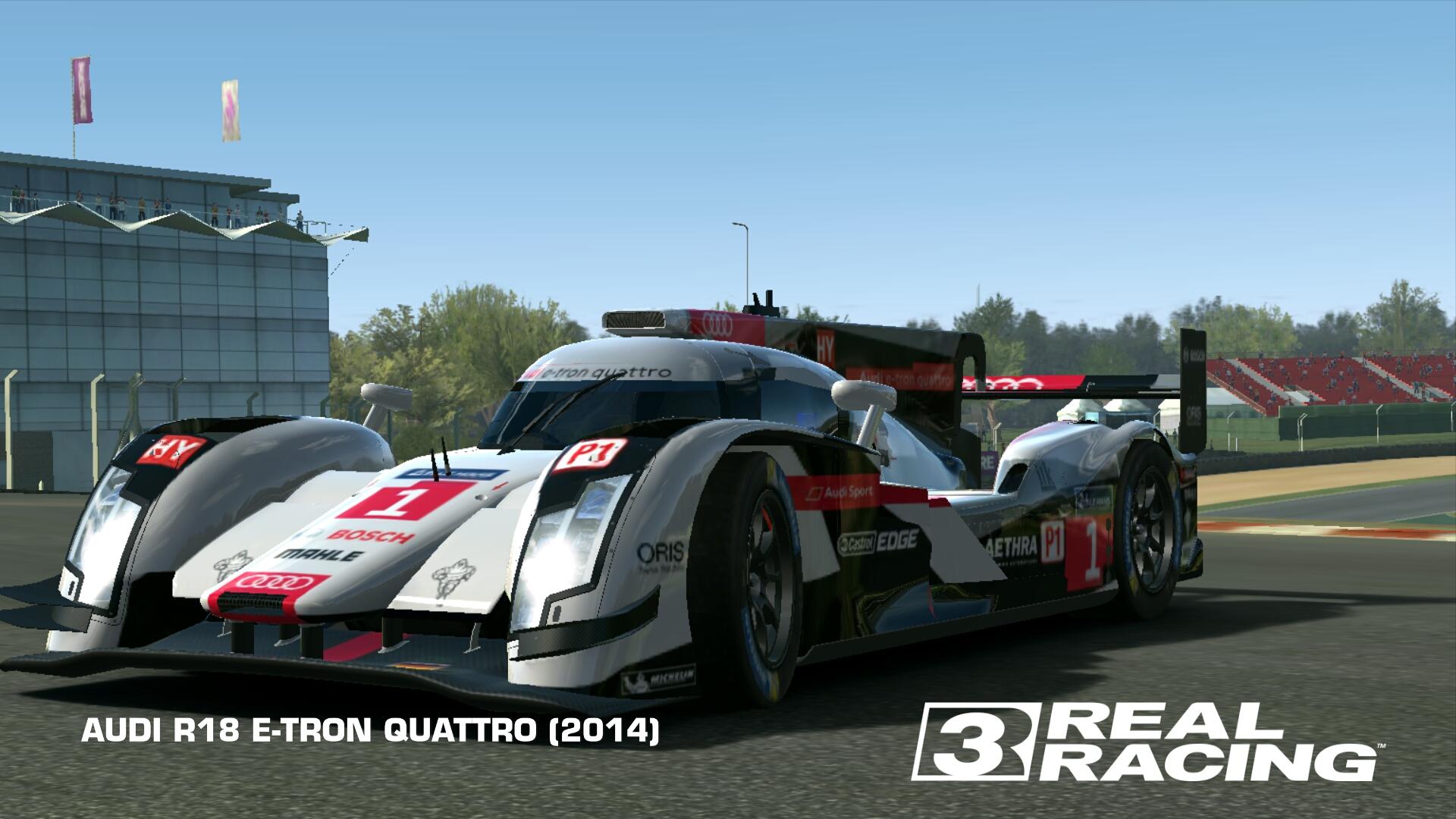 AUDI R ETRON QUATTRO Real Racing Wiki FANDOM Powered - Audi r18 e tron quattro