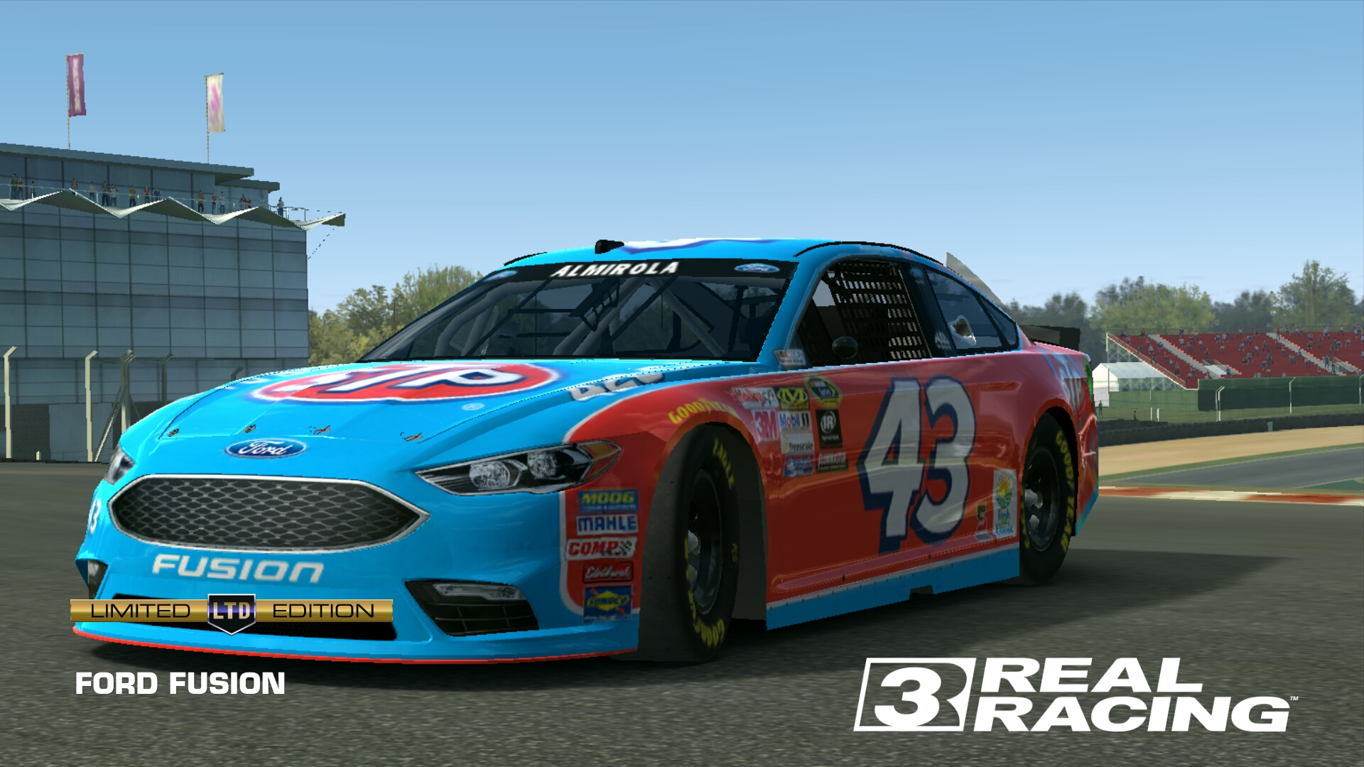 Ford Fusion Richard Petty Motorsports Real Racing 3 Wiki