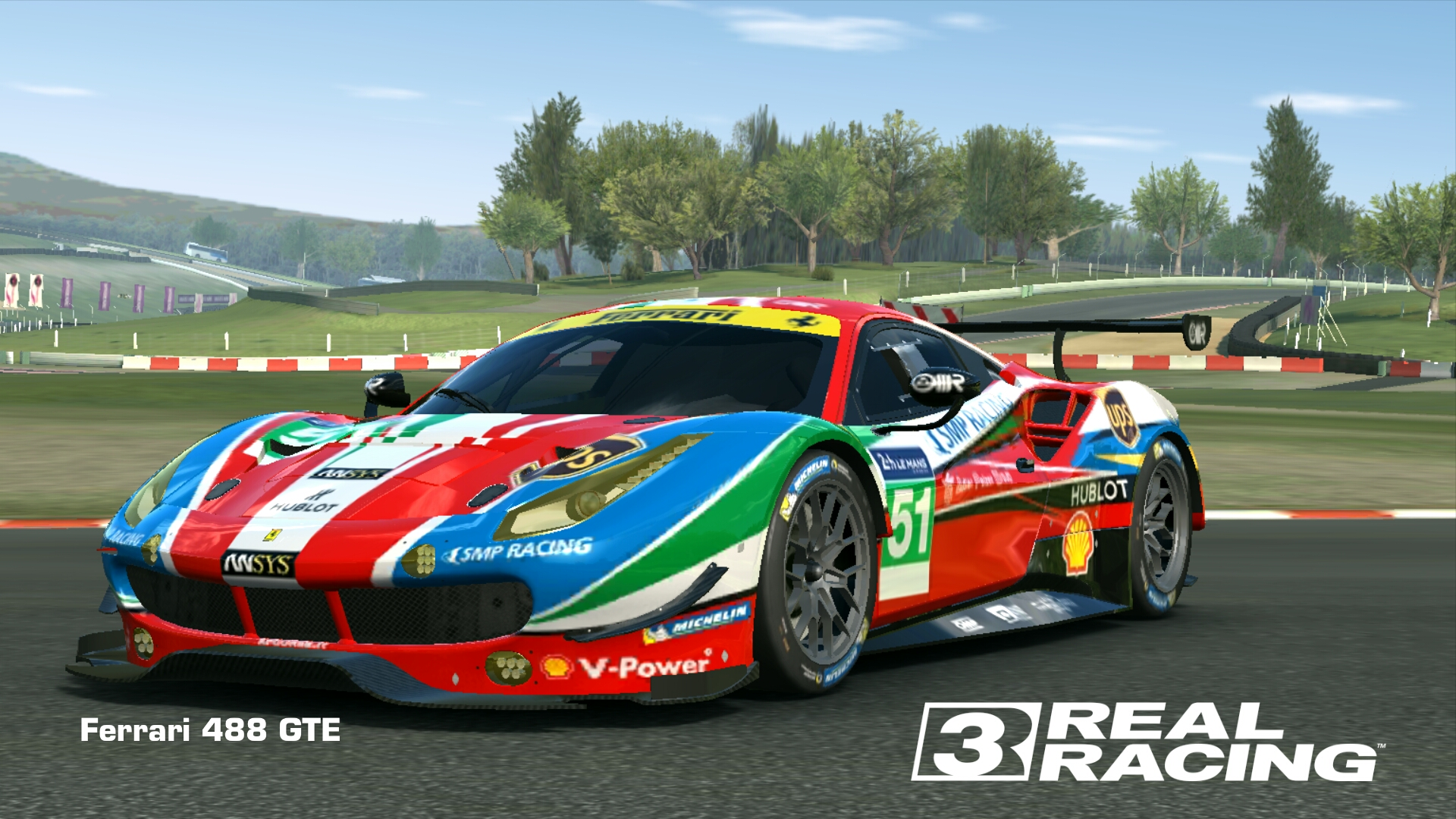 ferrari 488 gte | real racing 3 wiki | fandom poweredwikia