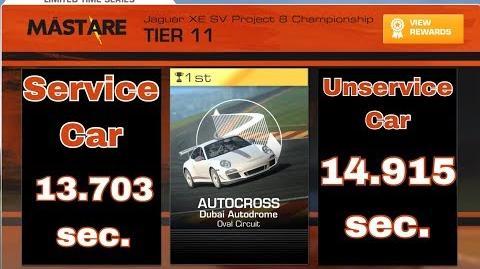 Next TC Autocross Jaguar XE SV 13.703 sec