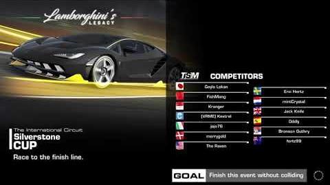 Lamborghini's Legacy, Stage 2 Race 1, using Lamborghini Miura