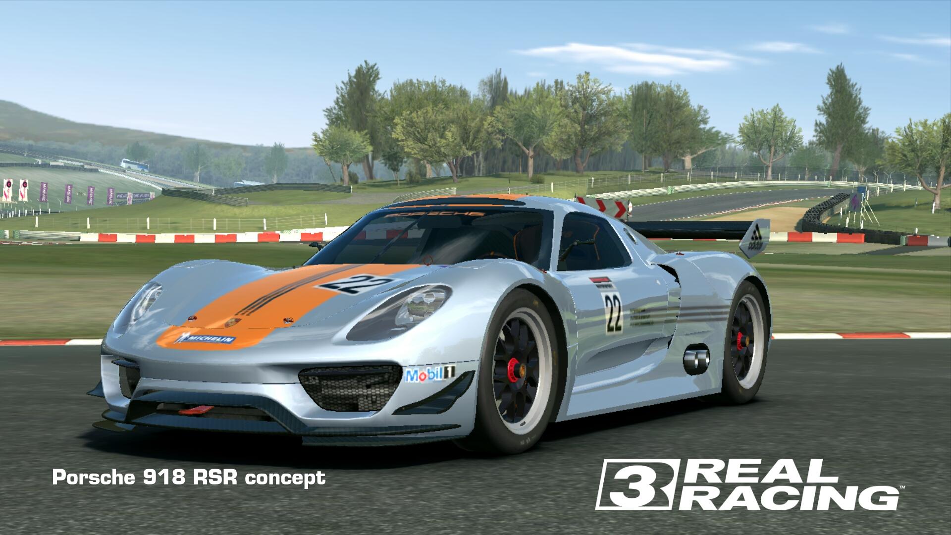 Showcase Porsche 918 RSR concept