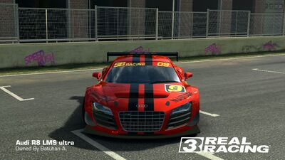 R8 LMS SB Edition No.9 Front