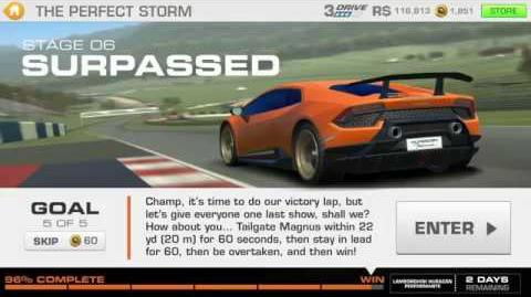 The Perfect Storm, Stage 6 Race 5 (11 upgrades, 1131311)
