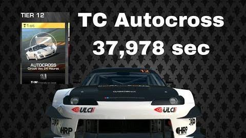 TC Autocross Silvia R3 SPEC 37,978 sec