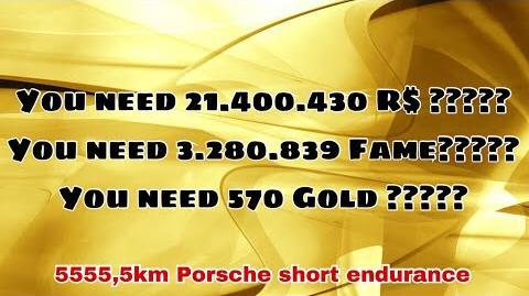 21 Mio R$ 3.2 Mio Fame 570 GOLD 5555,5km endurance