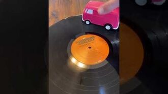 Record Runner - Toy car as a record player!