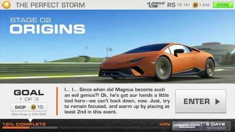 The Perfect Storm, Stage 2 Race 1 (0 upgrades)