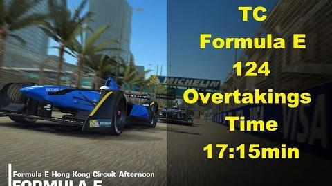 TC Formula E Overtaking HK 124 Overtakings