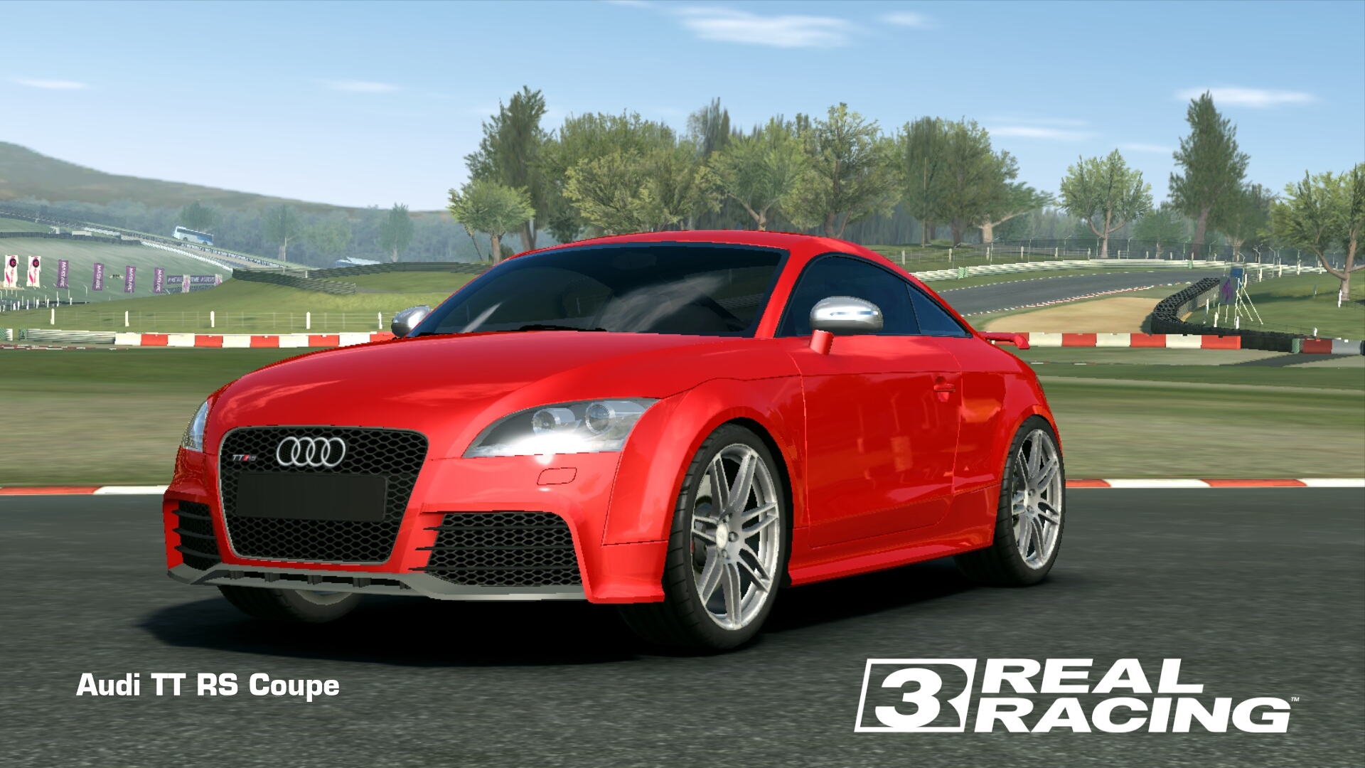 Showcase Audi TT RS Coupe
