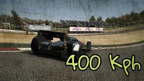 Brands Hatch Top Speed TC MP4-X 400KPH