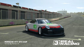 Porsche GT Racing Team No. 9 911 GT3 Cup