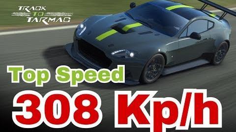 Top Speed Aston Martin AMR PRO 308 KPH Silverstone