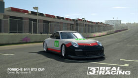 Porsche GT Racing Team No. 4 911 GT3 Cup