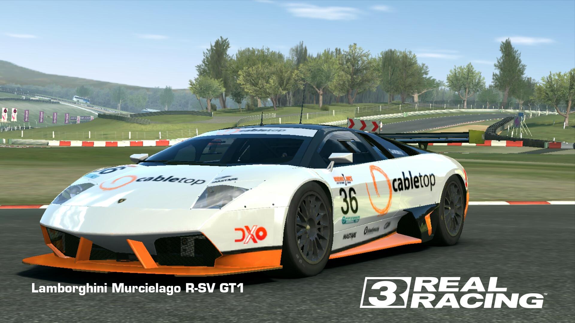 Showcase Lamborghini Murcielago R-SV GT1