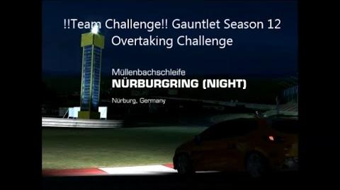 !!Team Challenge!! Gauntlet Season 12 Overtaking Challenge-0