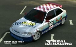 Albert Tasmani HONDA CIVIC TYPE-R