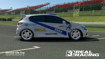 Clio Cup Team SB No.4 Side