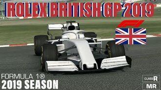 RR3 Formula 1® Rolex British Grand Prix™ 2019