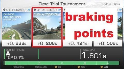 !!braking points!! WTTT Dubai Huracan Super T. EVO 1 04,830