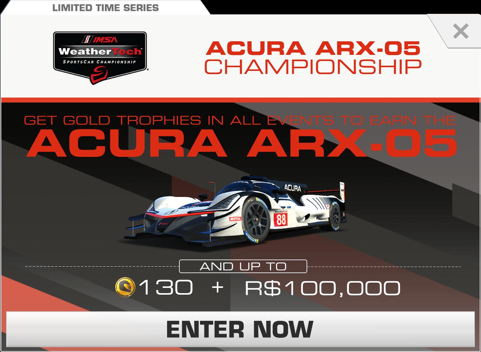 Acura arx 05 championship