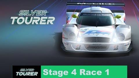 Silver Tourer Stage 4 Race 1 ups