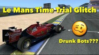 Le Mans Time Trial Problem