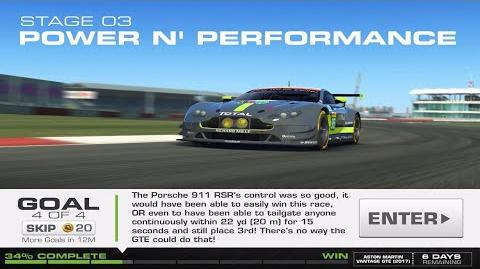 RR3 Balance Of Power Stage 3 Goal 4 Upgrades 1110100 Real Racing 3