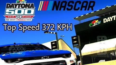 TC Top Speed Nascar ZL1 2x 372 Kph Daytona