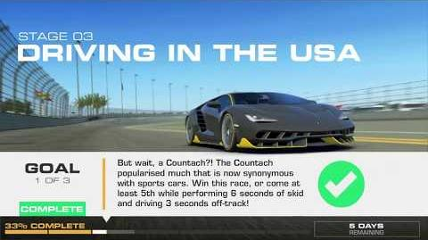 Lamborghini's Legacy, Stage 3 Race 1, using Lamborghini Countach
