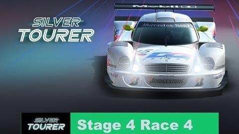 Silver Tourer Stage 4 Race 4 ups