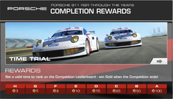 Series Porsche 911 RSR Through the Years Time Trial Competition
