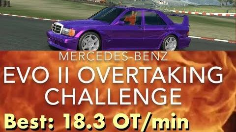Real Racing 3 RR3 Mercedes-Benz Evo II Overtaking Challenge Top 3 Races