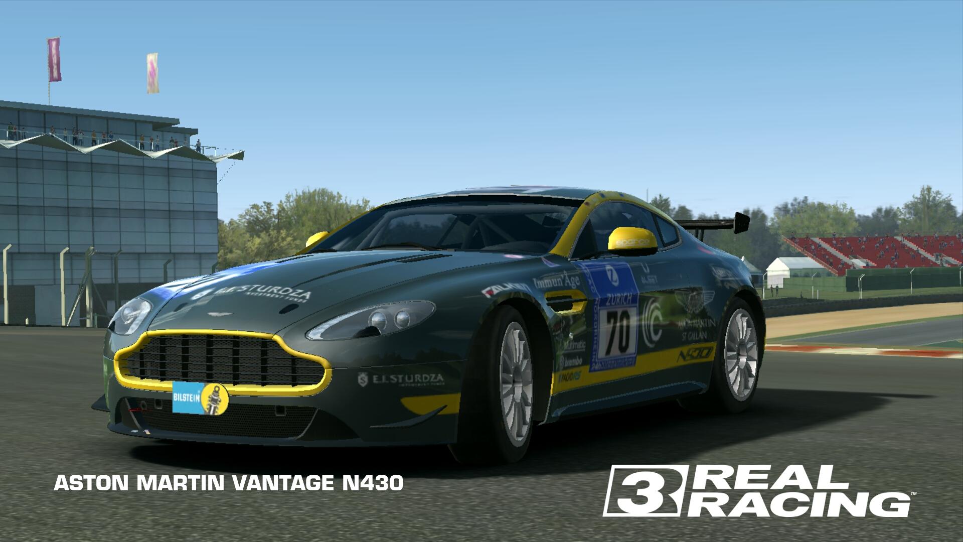 ASTON MARTIN VANTAGE N430   Real Racing 3 Wiki   FANDOM powered by Wikia