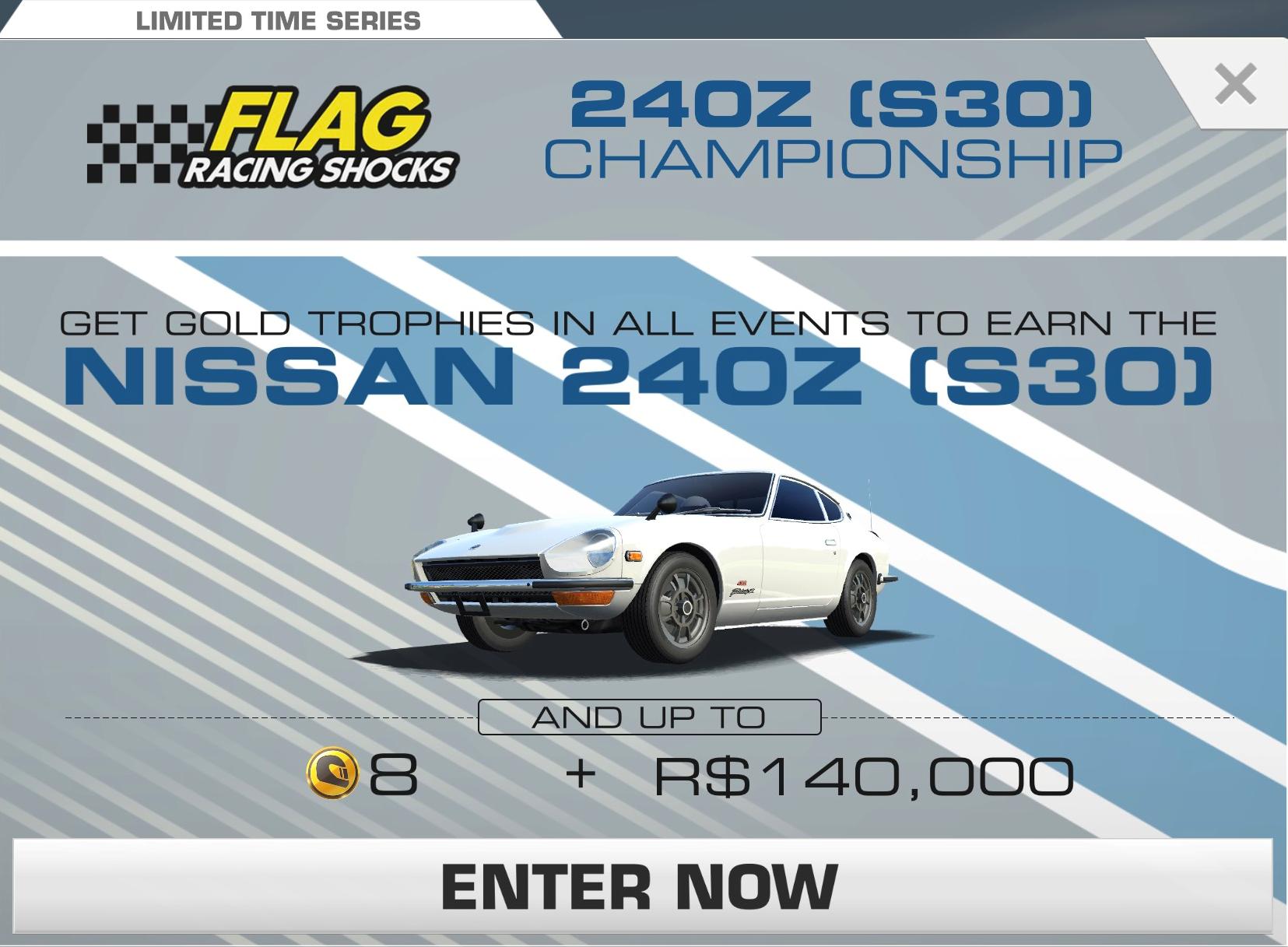 Nissan 240z s30 championship