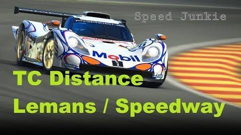 Porsche 911 GT1-98 Distance TC Lemans Speedway