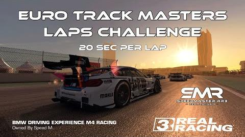 Real Racing 3 Euro Track Masters Laps Challenge Best Race In LTS 20 Seconds Per Lap RR3