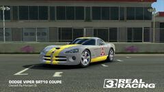Yellow Squadron Viper SRT10 Coupe