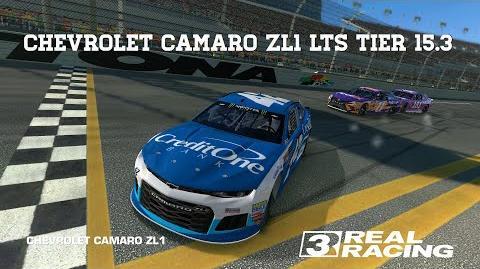 RR3 Chevrolet Camaro ZL1 LTS Tier 15.3 final race PR 58.5 Upgrades 4432333 Real Racing 3
