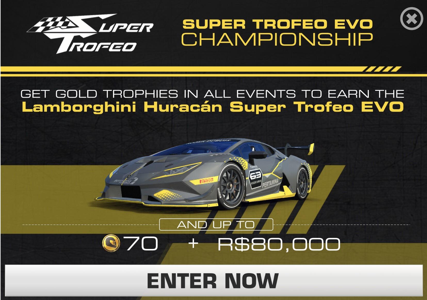 Lamborghini Huracán Super Trofeo EVO Championship