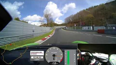 6 56.4 minutes – Onboard video of the new 911 GT3 RS at the Nürburgring-Nordschleife
