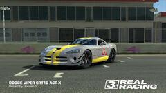 Yellow Squadron Viper SRT10 ACR-X