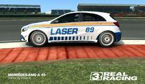 Laser Mercedes Silverstone 2