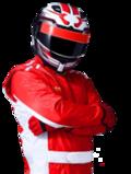 Porsche Driver Patrik Loeb No.19